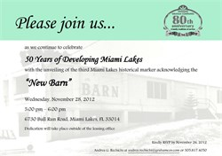 50 Years of Miami Lakes